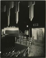 Earl Carroll Theatre balcony, 753 Seventh Avenue, New York City.