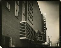 Earl Carroll Theatre marquee and sign, 753 Seventh Avenue, New York City.