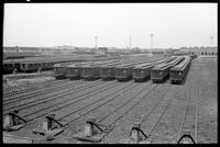 Broadway Spur, Brooklyn car yards, Brooklyn, June 12, 1940.