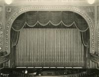 View of stage inside Forrest Theatre [i.e. Eugene O'Neill Theatre], 230 West 49th Street, New York City.