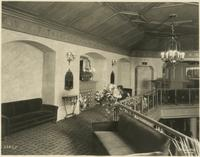 Lounge inside the Embassy Theatre, Port Chester, New York.