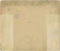 Block 1683, 148th Street, Bronx, N.Y.: Patrick Hughes property, Ward 52, no. 481; Nellie O'Connor property, Ward 51, no. 485. [verso].
