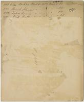 Block No. 1683, 149th Street, Bronx, N.Y.: Alois Koehler property, No. 448, Ward 24; Heinrich Schuman [?] property, No. 450, Ward 25; Frederick Brusius, no. 444, Ward 23; Patrick Burke property, no. 440, Ward 21. [verso].