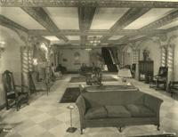 Lounge inside Imperial Theatre, 249 West 45th Street.