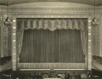 Stage inside Imperial Theatre, 249 West 45th Street.