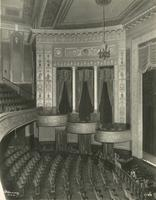 Seating inside Imperial Theatre, 249 West 45th Street.