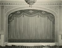 View of Mansfield Theatre stage, 256 West 47th Street.