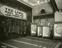 Lobby of Palace Theatre, 1564 Broadway, New York City.