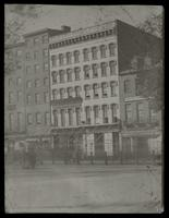 Bixby's Hotel, Northwest corner of Broadway & Park Place, showing W. & J. Sloane's. [239-245 Broadway]. Copy two.