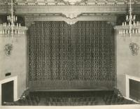 Guild Theatre stage, West 52nd Street, New York City.