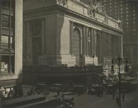View of Grand Central Terminal at 42nd Street and Vanderbilt Avenue, New York City.
