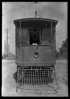 Kings County Railroad car, Brooklyn Rapid Transit, January 27, 1940.  Built by Middletown Car in 1893.