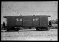 Kings County Railroad, Brooklyn Rapid Transit surface car 152, January 27, 1940. Built by Middletown Car in 1893.