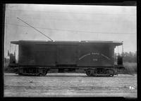 Kings County Railroad, Brooklyn Rapid Transit, surface car 176 , January 27, 1940. Built by Middletown Car in 1903.