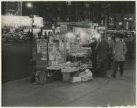 Newsstand, Broadway and 43rd Street.