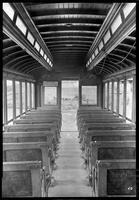 Brooklyn Rapid Transit car 3225, undated [c. 1940]. Interior view.
