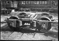 Brooklyn Rapid Transit / Wason Manufacturing Company chassis, undated [c. 1940]. Stamped with the date 1879.