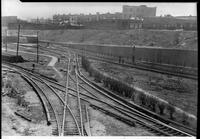 Unidentified railroad tracks, undated [c. 1940].