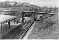 Unidentified railroad station [Brooklyn Rapid Transit 12?], July 30, 1940.