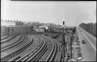 Unidentified railroad tracks [Brooklyn Rapid Transit 9?], July 30, 1940.