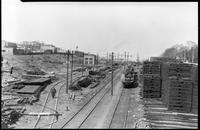 Unidentified railroad tracks [Brooklyn Rapid Transit?], July 30, 1940.