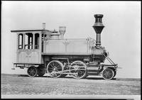Manhattan, Metropolitan Elevated railroad locomotive 146, undated. Built by the Danforth Locomotive and Machine Company, Paterson, NJ in 1879.