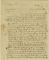Abigail Adams letter, Quincy, to Ann Harrod Adams, September 13, 1812.