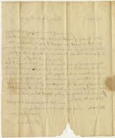 Abigail Adams letter, London, to Cotton Tufts, Boston, July 20, 1787, page [2], blank.