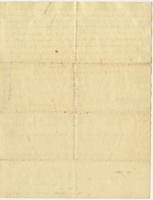 Abigail Adams letter to [Cotton Tufts],  January 18, 1790, page [3], blank.