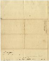 Abigail Adams letter to [Cotton Tufts],  January 18, 1790, page [4], with docket title.
