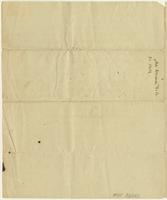 Abigail Adams letter to Mrs. Mercy Warren, [Quincy], December 30, 1812, page [4], with docket title.