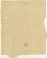 Abigail Adams letter, Quincy, to William Steuben Smith, August 30, 1815, verso, blank.