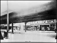 Bronx El, Bronx, Morrisania, Third Avenue and E. 165th Street, c. 1906.