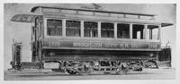 Brooklyn City Railroad car 1702, undated. [Photo acquired January 27, 1940?]