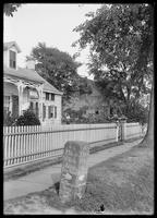 Milestone at 82nd Street and 18th Avenue, Brooklyn, undated (ca. 1890-1915).