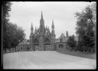 Entrance to Green-Wood Cemetery, Brooklyn, undated (ca. 1890-1910).