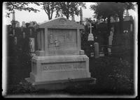 Charles Griffith tombstone, Greenwood Cemetery, Brooklyn, New York City, undated (ca. 1890-1910).