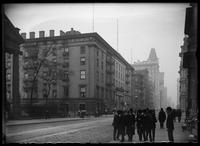 Astor House and St. Paul's Chapel, New York City, November 16, 1902.