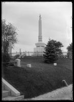 Unidentified monument in Greenwood Cemetery, Brooklyn, New York City, undated (ca. 1890-1910).