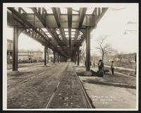 Subway Construction Photograph Collection. Contract Three. Route 16, 1913-1925