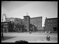 Church of St. Luke in the Fields, Hudson Street, Greenwich Village, New York City, 1913.