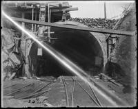 New York subway construction negative collection, 1901-1902, and undated